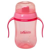 Dr Brown's Hard-Spout Cup - Pink