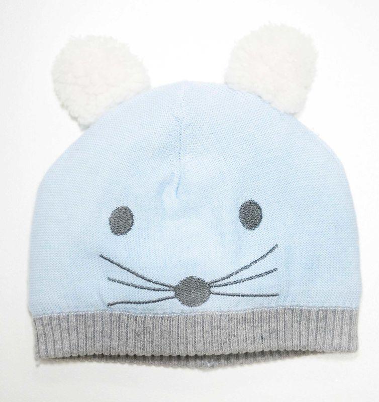 109112B   Blue Mouse Beanie
