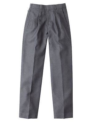 1500B Melange School Pant - Dark Grey