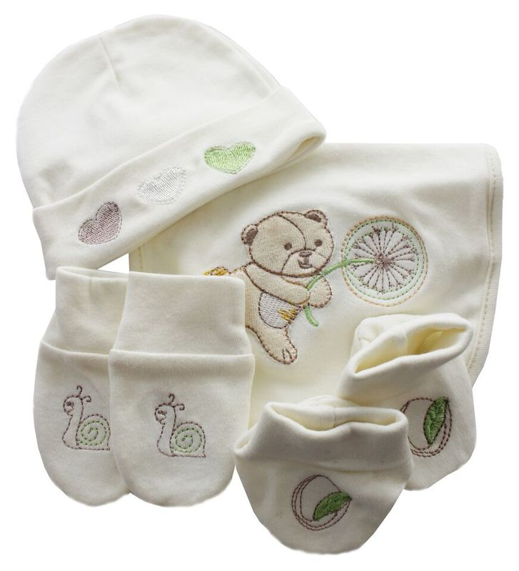 4Pce Layette Gift Set  Fly Away