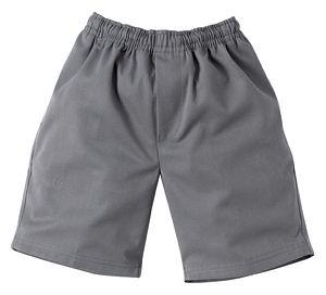 9910 School Shorts - Grey