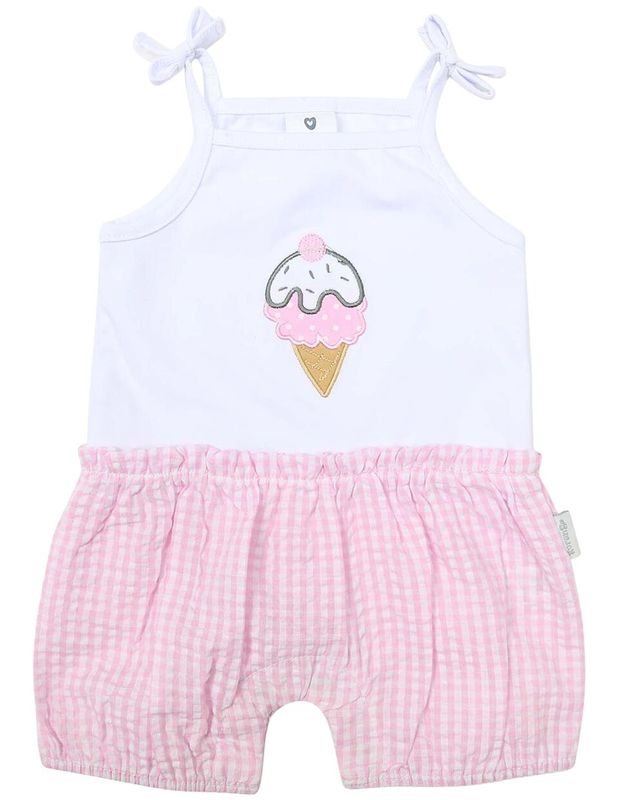 B1218 Ice Cream Playsuit