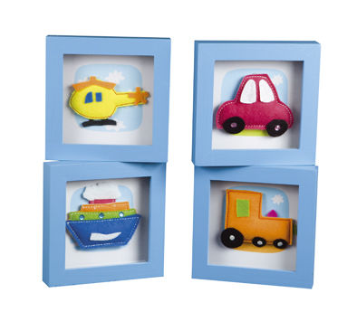 BBK0430 Funky Vehicles Frames  Set 4