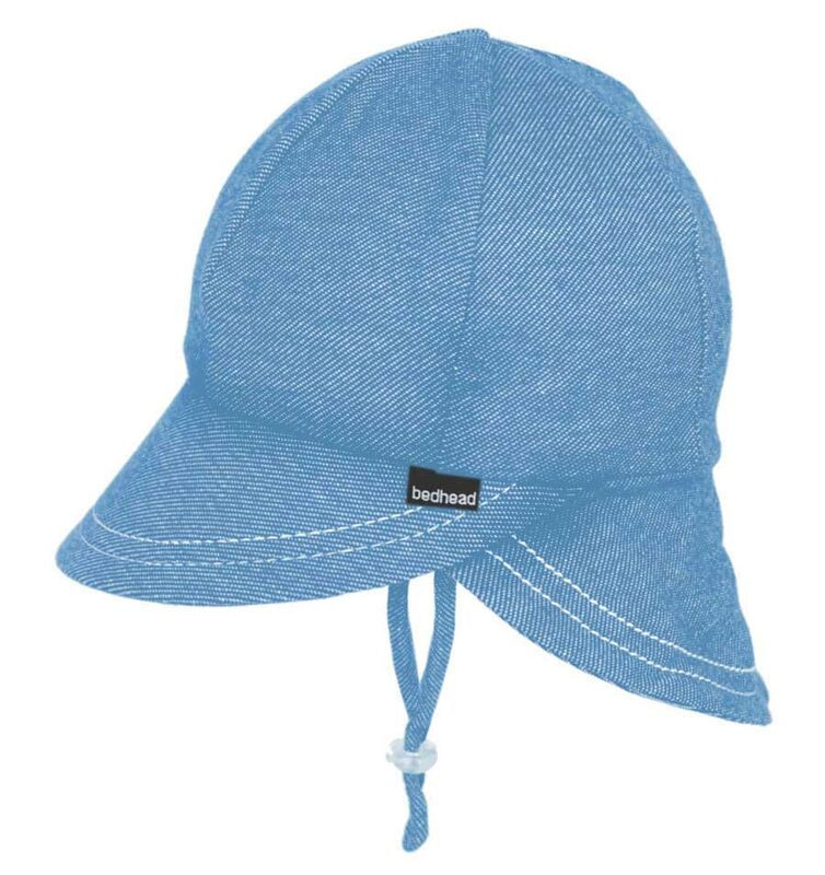 BH Chambray Legionnaire Hat with Strap