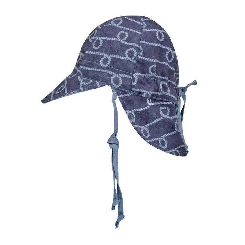 BH Lounger Crew  Steele Baby Reversible Flap Sun Hat
