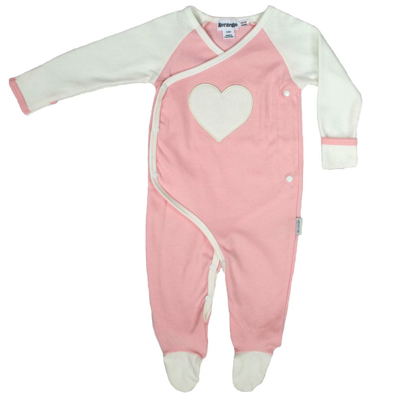 Baby Hearts Romper  Pink