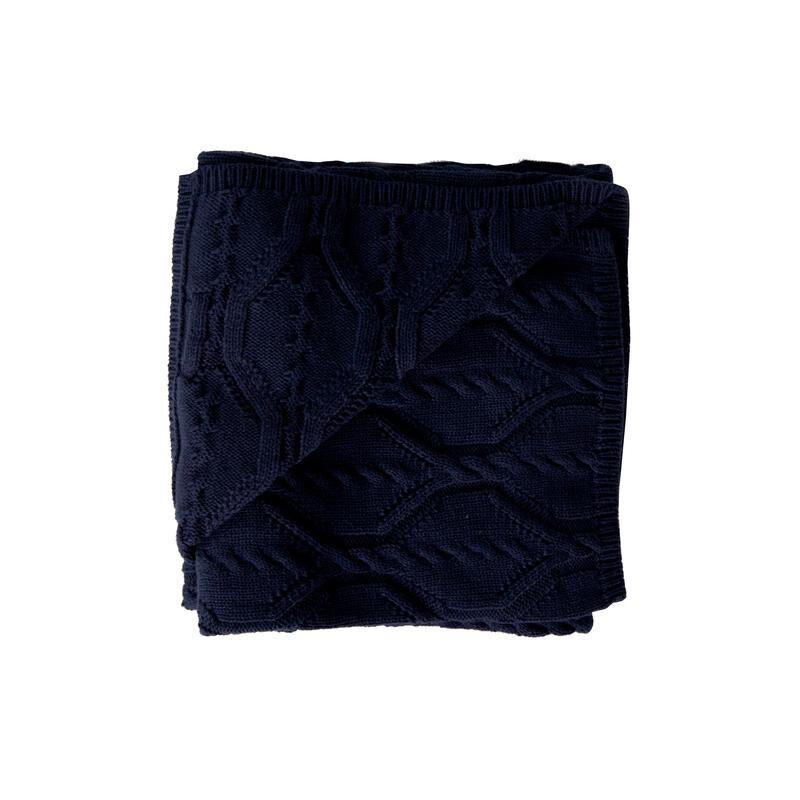 Bonny Blanket  Navy  BK3029
