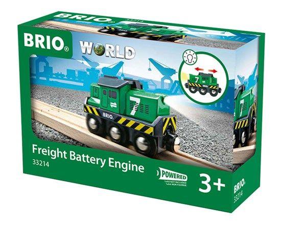 Brio  Battery Powered Freight Engine