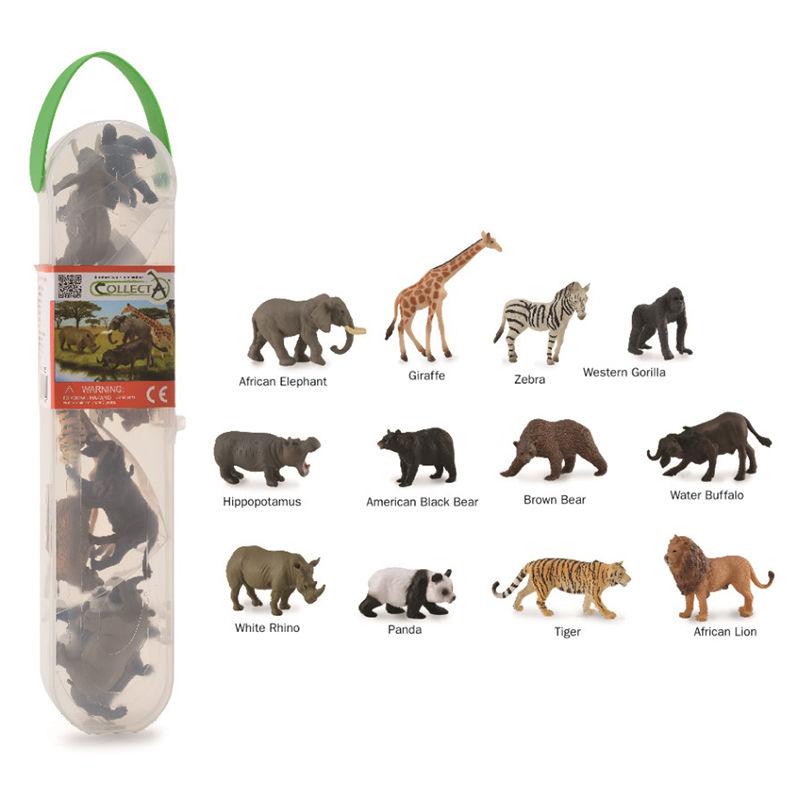 CO89A1105 Wildlife 12 pce Gift Set
