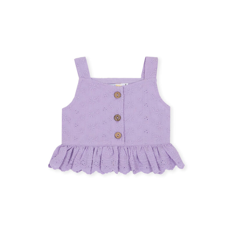 Charlotte Broderie Top