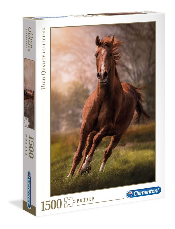 Clementoni The Horse  1500 pcs  High Quality Collection