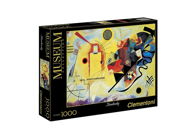 Clementoni Yellow Red Blue Kandinsky Museum Collection 1000 Piece