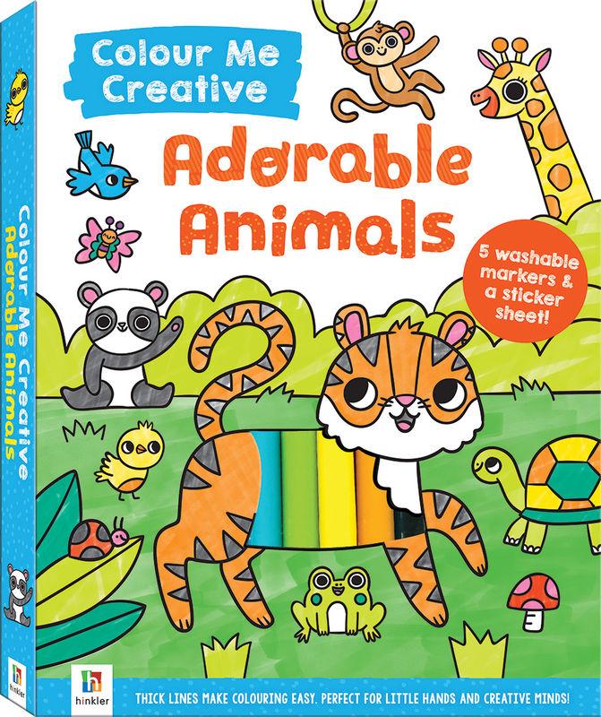 Colour Me Creative Adorable Animals