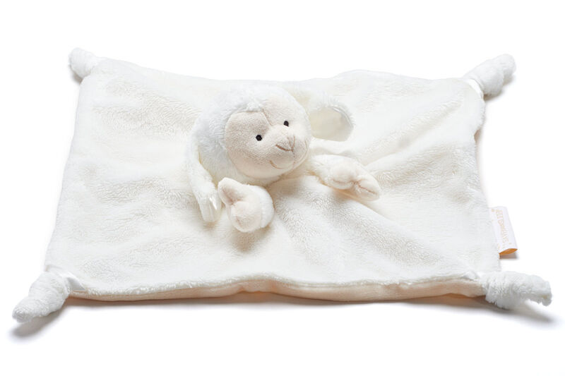 Comforter Lizzie Dog   White