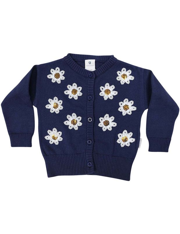 Daisy Sequence Cardigan