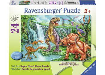 Dino Falls Super Size 24pc Puzzle