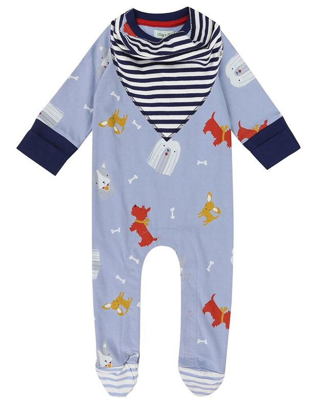 Dogs Days Playsuit and Bib