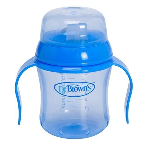 Dr Brownand39s 170ml Soft Spout Training Cup  Blue