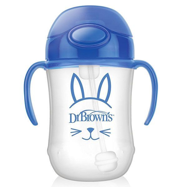 Dr Brownand39s Babyand39s 1st Straw Cup  Blue