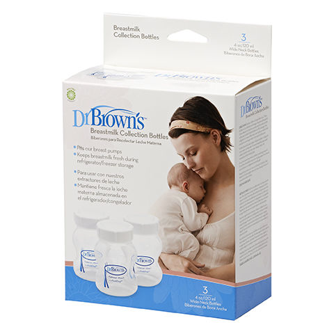 Dr Brownand39s Breastmilk Collection Bottles 3pk