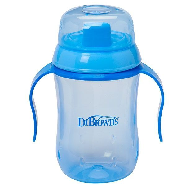 Dr Brownand39s HardSpout Cup 270ml  Blue
