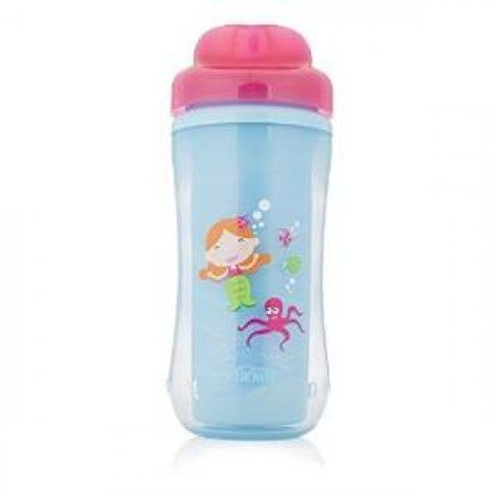 Dr Brownand39s Spoutless Insulated Cup  Blue