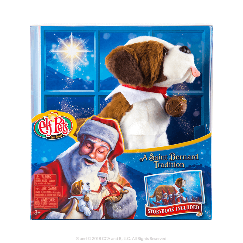 Elf Saint Bernard