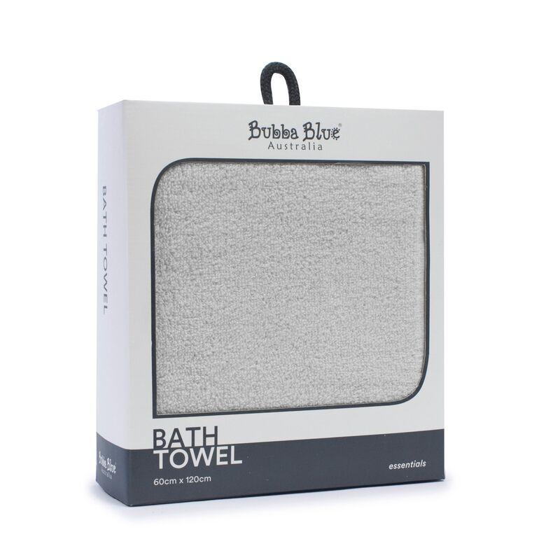 Everyday Essentials Bath Towel  Grey