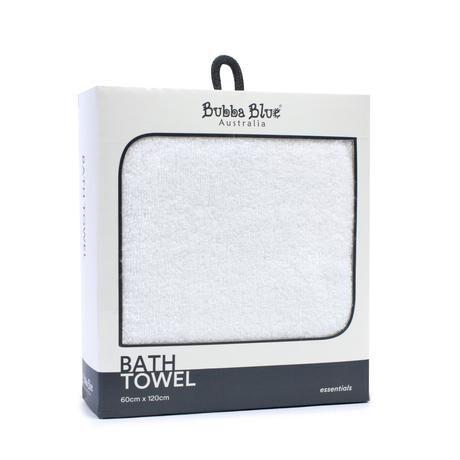 Everyday Essentials Bath Towel  White