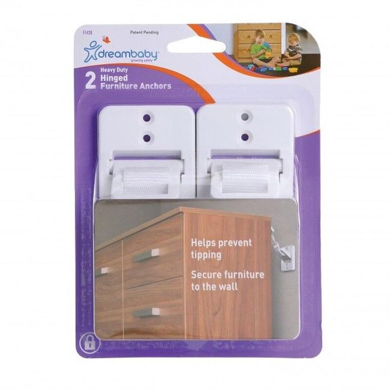 F1428 Heavy Duty Hinged Furniture Anchors
