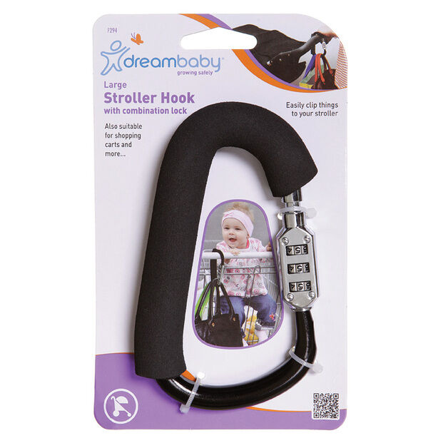F294 Large Stroller Hook With Combination
