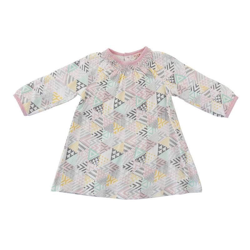Geo Print Dress