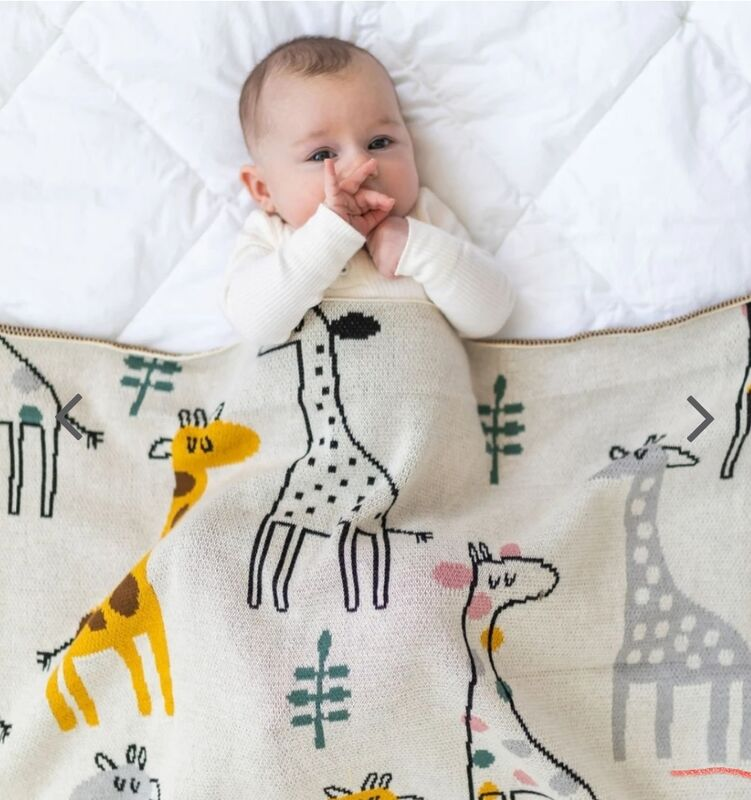 Georgie Giraffe Blanket