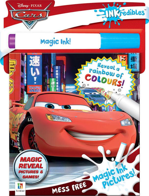 Inkredibles Disney Cars Magic Ink Pictures