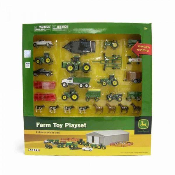 JD Farm Toy 70Pce Play Set