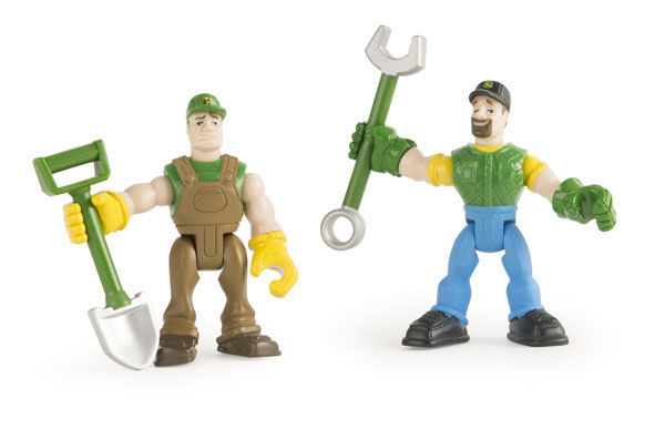 JD Gear Force Figures and Tool 46504