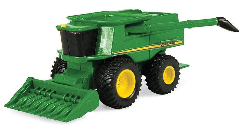 JD Mini Combine w Grain 46585