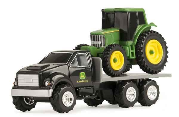 JD  Truck with JD Tractor 46506