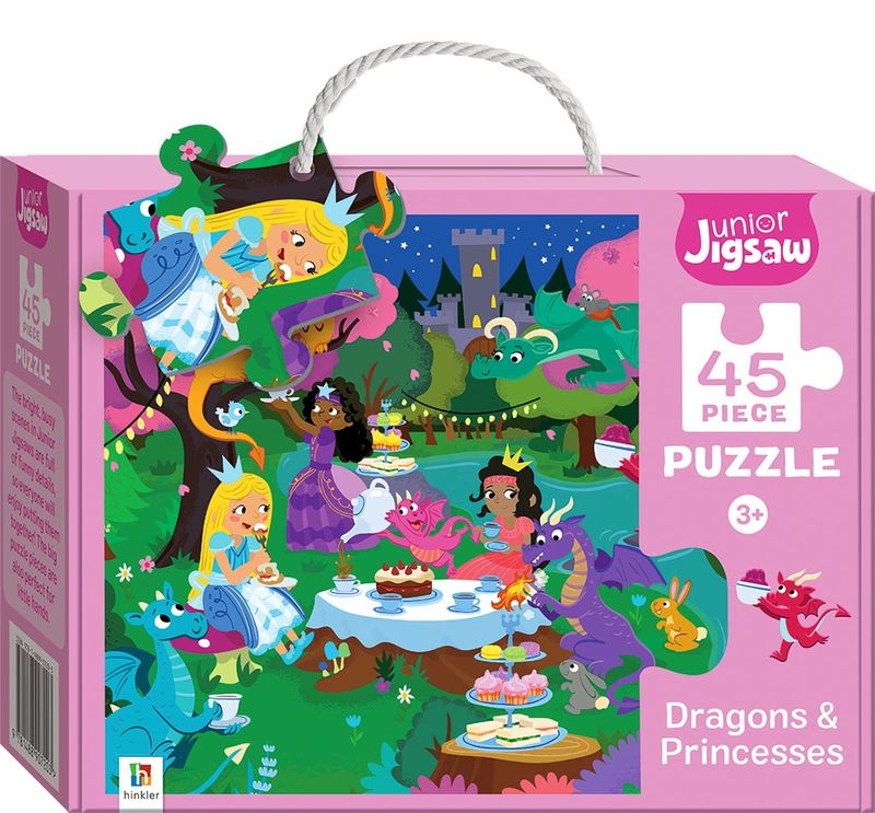 Junior Jigsaw Small Dragons and Princesses