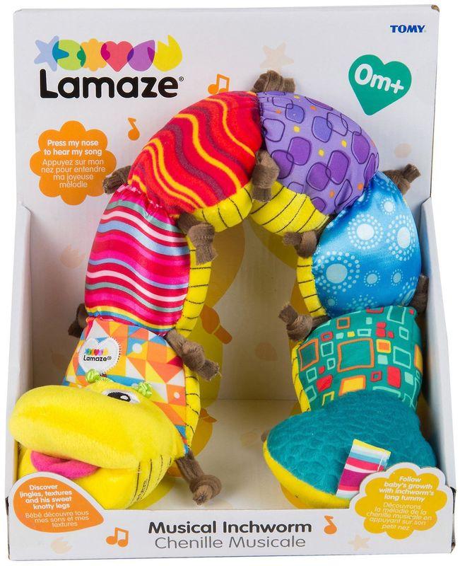 Lamaze Musical Inch Worm L27107