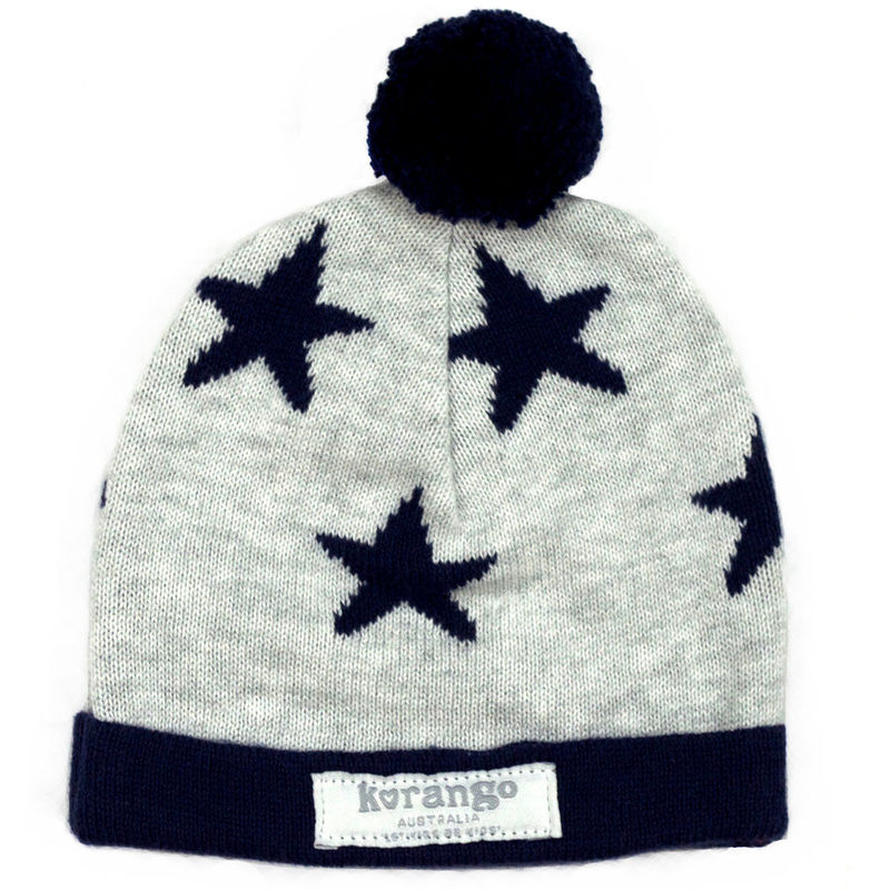 Little Star Beanie  Grey