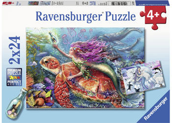 Mermaid Adventures 2 x 24pc Puzzle