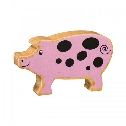 NP01 Natural Pink Spotted Pig