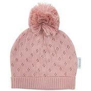 Organic Baby Knit Beanie  Pink