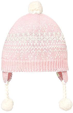 Organic Earmuff Picco Beanie Blush