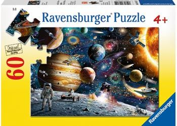 Outer Space Puzzle 60pc