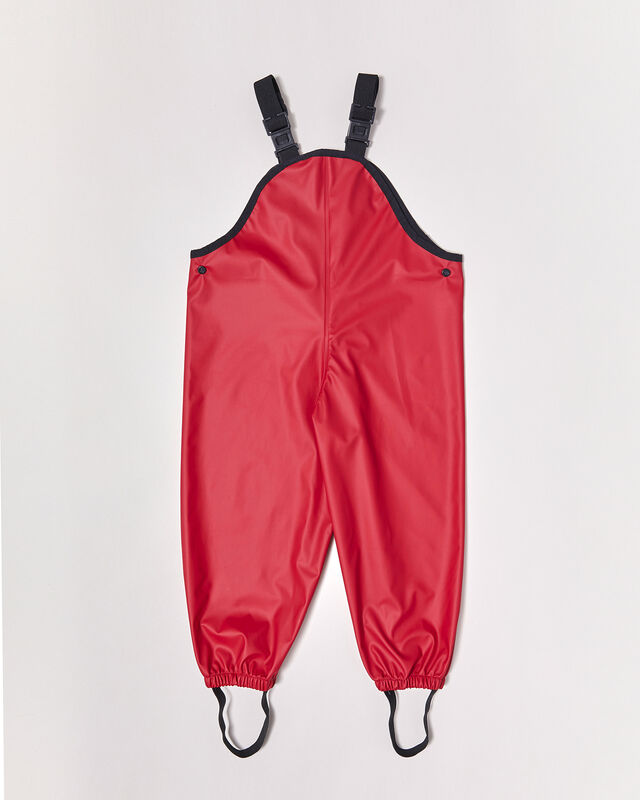 Overalls  Deep Red
