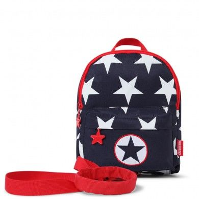 PS Backpack Mini w Rein  Navy Star