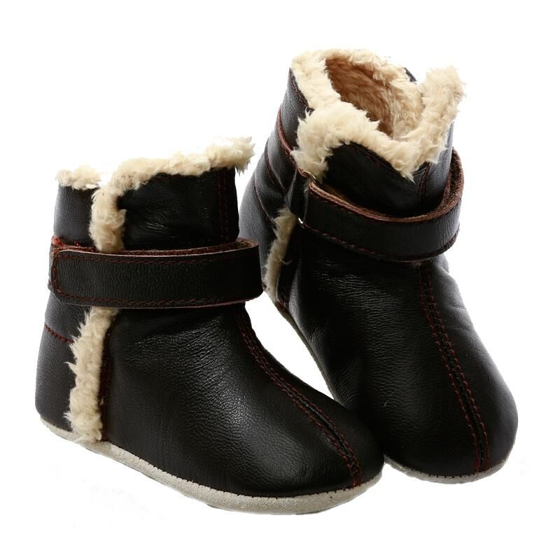 Prewalker Baby SNUG Boots Chocolate