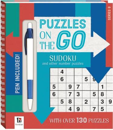 Puzzles on the Go Series 8 Sudoku